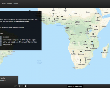 Data Protection Africa: A tool for information, advocacy and activism in Africa