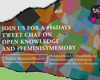Open knowledge and feminist memory