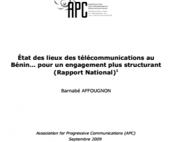 État des lieux des télécommunications au Bénin… pour un engagement plus structurant