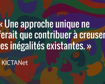 Semer le changement: KICTANet intègre une perspective de genre dans ses projets axés sur les communautés pendant et après la pandémie