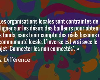 Semer le changement: l'organisation La Différence renforce Pamoja Net, un réseau communautaire pour les populations insulaires isolées en RDC
