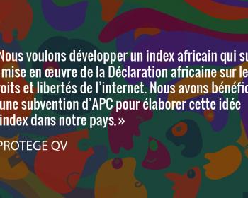 Semer le changement: L'association camerounaise PROTEGE QV amplifie la défense des droits numériques sur le continent africain