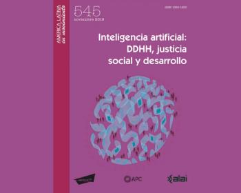 Inteligencia artificial: derechos humanos, justicia social y desarrollo