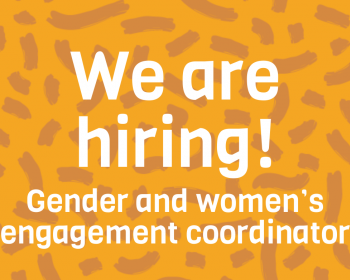 Job call: Gender and women's engagement coordinator – Connecting the unconnected