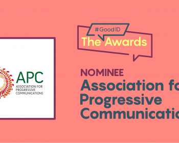 APC nominated to the #GoodID Awards 2021