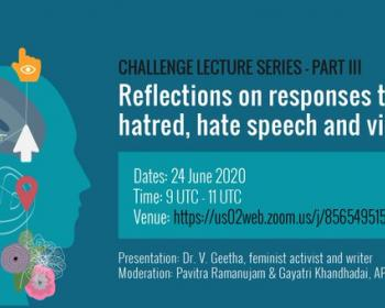 Speaking of Hatred: Reflections on responses to hatred, hate speech and violence