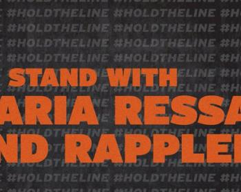 #HoldTheLine Coalition calls for criminal tax charge to be dropped as Maria Ressa returns to court