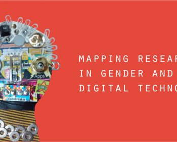 Mapping research in gender and digital technology