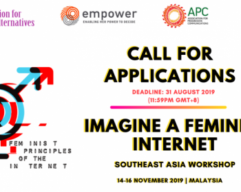 Imagine a Feminist Internet: Southeast Asia workshop will explore intersections of gender, sexuality and technology