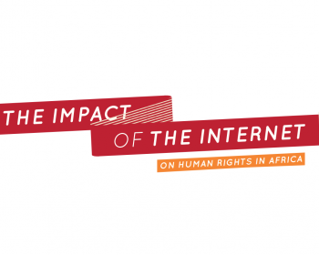 The impact of the internet on human rights in Africa
