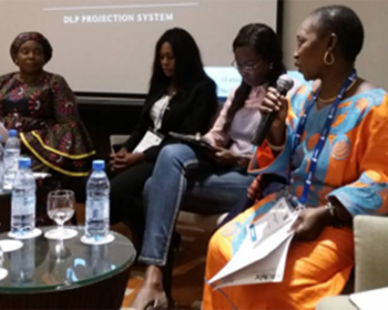 Talking community networks at AfChix TechWomen Summit 2018