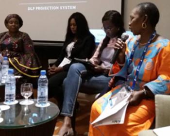 Talking community networks at AfChix TechWomen Summit 2018
