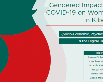 Gendered impact of COVID-19 on women in Kibera