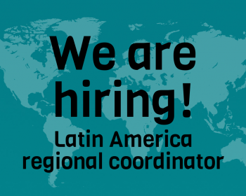 Job call: Latin America regional coordinator – Connecting the unconnected