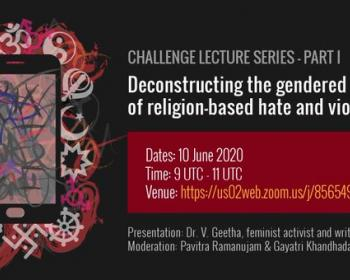 Speaking of Hatred: Deconstructing the gendered nature of religion-based hate and violence