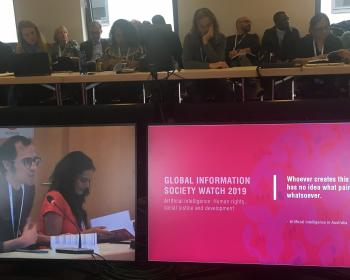 Exploring the human rights dimensions of artificial intelligence and online content moderation at the IGF