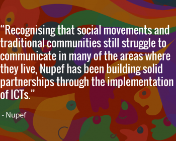 Seeding change: Nupef works with community networks to support the right to communication of traditional communities in Brazil