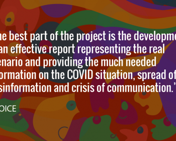 Seeding change: VOICE takes a grassroots approach to battle misinformation around COVID-19