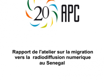 Migration vers la radiodiffusion numérique au Sénégal: rapport d'atelier