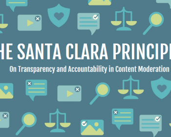 APC input to the public consultation on the Santa Clara Principles on Transparency and Accountability in Content Moderation