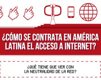 ¿Cómo se contrata en América Latina el acceso a internet?