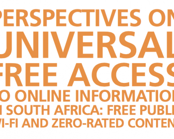 Perspectives on universal free access to online information in South Africa: Free public Wi-Fi and zero-rated content