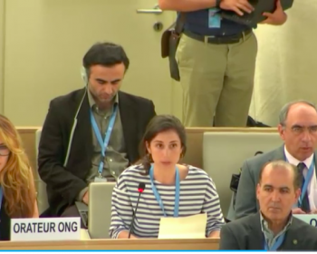 Restrictions to freedom of expression online: Joint oral statement at the Human Rights Council 38th session