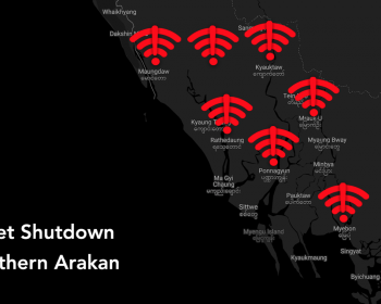 Coconet: To fight COVID-19 in Myanmar, stop the war and internet shutdown in Arakan