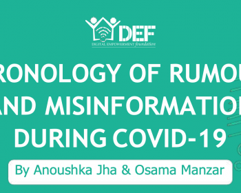 DEF: Chronology of rumours and misinformation during COVID-19
