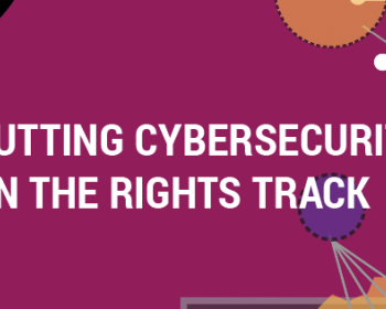 Putting cybersecurity on the rights track