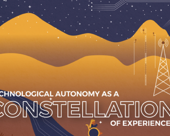 Technological autonomy as a constellation of experiences: A guide to collective creation and development of training programmes for technical community promoters