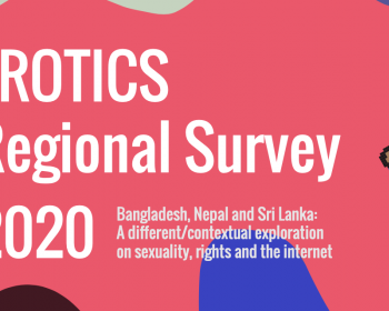 EROTICS regional survey 2020: A different contextual exploration on sexuality, rights and the internet