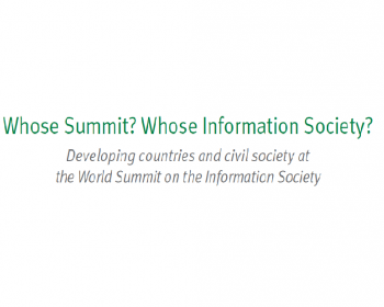 Whose Summit? Whose Information Society?
