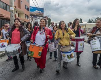 Acción Ecológica rejoint le réseau d'APC: «La communication est aujourd'hui fondamentale dans la lutte et la résistance pour sauvegarder les territoires, les villes et l'environnement»