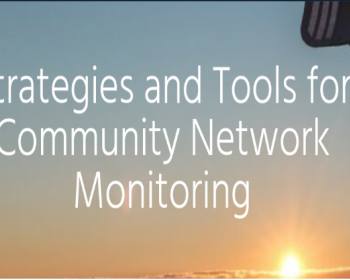 Virtual Summit on Community Networks in Africa: Strategies and tools for community network monitoring