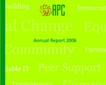 APC Annual Report 2006