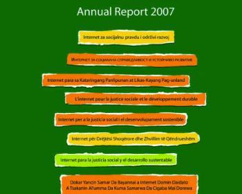 Rapport Annuel APC 2007