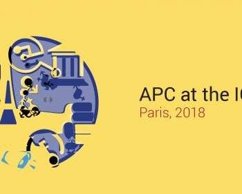 APC schedule at the IGF 2018: Day 1