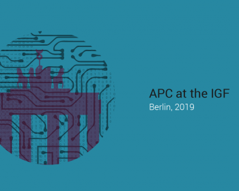 APC at the Internet Governance Forum 2019