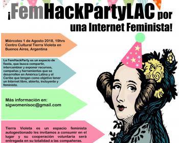 FemHackPartyLAC: por una internet feminista en América Latina y el Caribe
