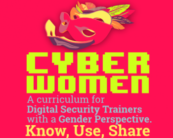 Cyberwomen: A self-defense guide with gender perspective