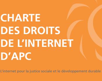Chartes des droits d'internet - télécharger