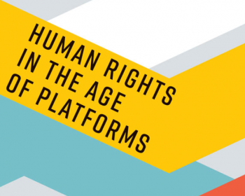 "Human Rights in the Age of Platforms: ""The call for alternatives is growing"""