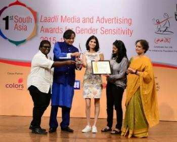 "Point of View wins Laadli Media Award: ""An encouragement to keep fighting for gender equality"""