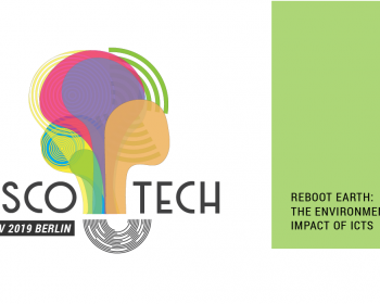 Save the date! Disco-tech 2019 on the environmental impact of ICTs