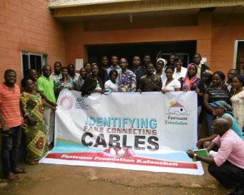Fantsuam holds training on identifying fake cables for improved internet access