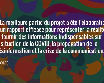 Semer le changement : VOICE est sur le terrain pour contrer la désinformation entourant la COVID-19