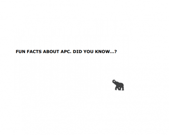 Fun facts on the history of APC!