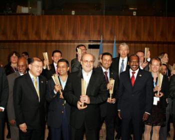 GISWatch est le lauréat du prix 2012 du meilleur projet du Sommet mondial de la société de l'information