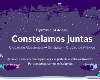 Ciberseguras: constelamos juntas